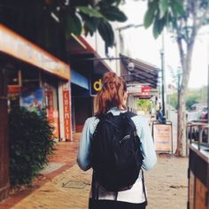 """@julziekeane's photo: """"Day 16: Bag. This is my favourite backpack. I bought it when I was 19 and it's been to 30 countries with me. Now it goes to the gym with me. I need to go overseas again. #fmsphotoaday #backpack #kathmandu #travel"""""""