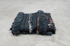handira blanket black with sequins