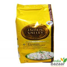 If you are looking for an Exemplary Pure Basmati Rice then there could not be a better option then Indus Valley Basmati Rice. Indus Valley Classic Basmati Rice conveys to you honest to goodness immaculate and perfect taste to make your regular feast much more extraordinary. Each grain holds the premise of unadulterated Basmati that is deliberately chosen and handled for a delightful affair. Furthermore India Bazaar is offering this at best rate!