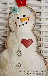 *HANDMADE CHRISTMAS ORNAMENTS