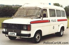 MK2 Ford Transit carrier West Midlands Police