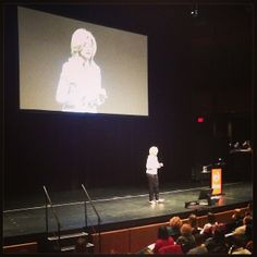 """So beautiful """"At the heart of grace is gratitude."""" @Ari Huffington at the Integrative Nutrition Conference #iinphoto #nyc"""