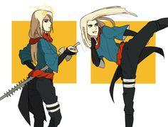 well at least I tried to draw Eva's sunagakure outfit more Eva -na-nedam.deviantart.com/galler…