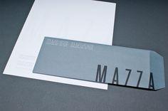 MAZZA REDESIGN by Ashley Armour Kittrell, via Behance