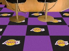 Use the code PINFIVE to receive an additional 5% discount off the price of the  Los Angeles Lakers NBA Carpet Tiles at sportsfansplus.com