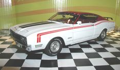 PhillyMint Diecast - GMP 1969 Mercury Cyclone Spoiler II Cale Yarborough Special Limited Edition 1:24th Scale Diecast Model