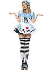 Adult Miss Wonderland Costume, $55.99