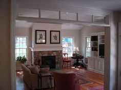 Home Addition Ideas - Bing images Family Room Addition, Sunroom Addition, Small Room Design, Family Room Design, Family Rooms, Home Renovation, Home Remodeling, Four Seasons Room, 4 Season Room