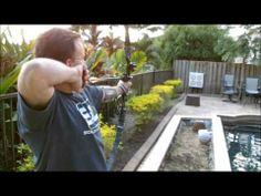 Recurve Bow Archery: Jeff Shooting PSE Kingfisher - http://huntingbows.co/recurve-bow-archery-jeff-shooting-pse-kingfisher/