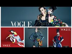 2NE1 Showed Ethnic African Style Fashion  for 'Vogue Korea'