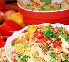 Chopped Pasta Salad