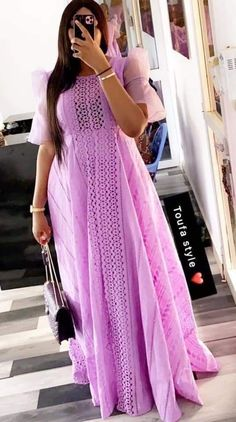 Long African Dresses, Latest African Fashion Dresses, African Print Fashion, Long Dresses, Estilo Abaya, African Print Dress Designs, Lace Dress Styles, Mode Top, Look Plus