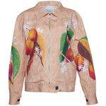 Isolda     Printed Bomber Jacket