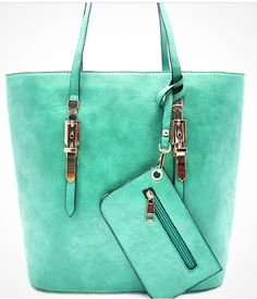 Beauty & bags, oh my! Option #2 to add to our accessory list. What color should we choose? Black, Blue, or Green? Let us know!