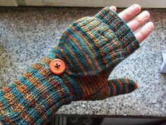 Lankaterapiaa: Se on Ruoste Baby Knitting Patterns, Knitting Designs, Fingerless Gloves, Arm Warmers, Crochet, Gloves, Cast On Knitting, Knitting Projects, Fingerless Mitts