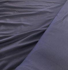 Jersey de bambou violettablue Sewing, Fabric, Bamboo, Tejido, Dressmaking, Tela, Couture, Sew, Fabrics