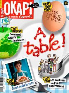 Dossier : Supermarchés, le parcours de la tentation (p. 10-16) Décodage :l'œuf, il en a sous la coquille ! (p. 18-19) Question : comment nourrir la population en 2050 ? (p. 20-22) Défi : en cuisine, on ne jette rien ! (p. 26-31)