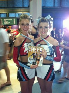 Fire and Ice Allstars in their new uniforms at cheerleading worlds 2012