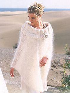 crochet pattern - romance poncho