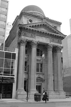 205 Yonge Street, formerly Bank of Toronto (B+W) by Canadian Pacific, via Flickr