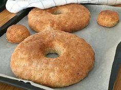 Glutenfria halkakor Lchf, Dairy Free, Gluten Free, Fodmap Diet, Foods With Gluten, Food N, Creative Food, Bread Baking, Bagel