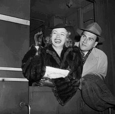 Lana Turner & Artie Shaw: Married February 13, 1940, Divorced September 12, 1940