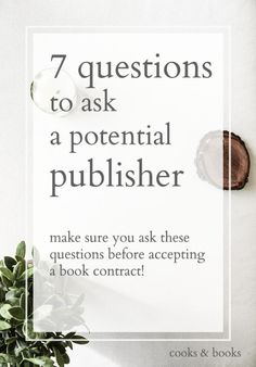 A literary agent on the questions to ask when negotiating a book publishing contract Book Writing Tips, Writing Resources, Writing Help, Writing Skills, Writing Prompts, Book Publishing Companies, Roman, Writers Write, Writing Inspiration