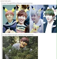 BTS V | SHIET THAT WAS SUPPOSED TO BE A PIKACHU? No way shet