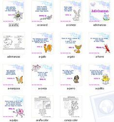 El Lenguaje de los Niños: Adivinanzas con actividades para preescolar.