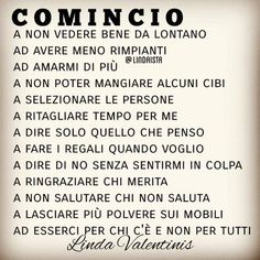 Parole di Vita | Semplicemente Donna by Ritina80 Italian Phrases, Italian Quotes, Favorite Quotes, Best Quotes, Learning Italian, Magic Words, Funny Images, Life Lessons, Quotations
