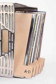 "Kate Koeppel Design 12"" Vinyl Record Divider Set"