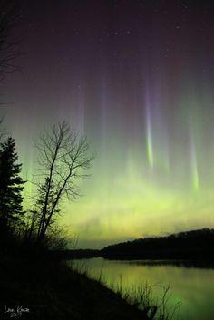 Auroras boreales desde Ontario, Canadá – El Universo Hoy