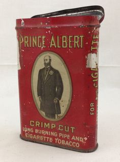 """Vintage Prince Albert Tobacco Tin, Altered Art and Assemblage Foundation @ the Texas Makerie. """"Do you have Prince Albert in a can?..."""" You know the rest. lol"""