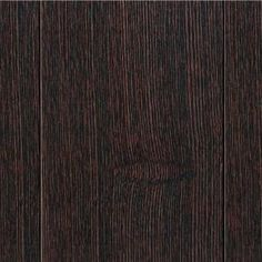 Wire Brush Elm Walnut 1/2 in. Thick x 3-1/2 in. Wide x Random Length Engineered Hardwood Flooring (20.71 Sq.Ft/Case)-HL105P at The Home Depot