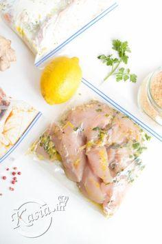 przepis na marynatę do kurczaka cytrynowo-czosnkową