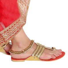 Antique Payal 58400W #Kushals #Jewellery #FashionJewellery #IndianJewellery  #Wedding Accessories #Payal
