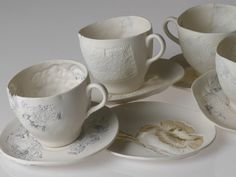 The new romantics are alive and well in Britain - Claire Cole Wallpaper and Ceramics