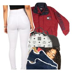 """Tommy"" by xbad-gyalx ❤ liked on Polyvore featuring MCM, Rolex and adidas Originals"