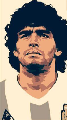 Maradona Tattoo, Ultras Football, Argentina Football, Diego Armando, Football Images, Sugar Skull Tattoos, Football Wallpaper, Sports Art, Cultura Pop