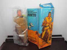 Vintage GABRIEL The Lone Ranger TONTO #23621 Action Figure w Original Box Sealed