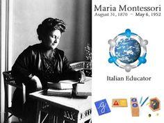 Maria Montessori, Italian educator