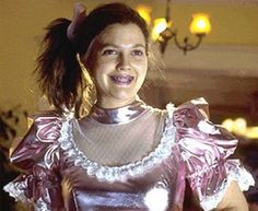 """The lovely Drew Barrymore as the sweet, smart, socially awkward Josie """"Grossy"""" Gellar in Never Been Kissed. Romance Movies Best, Good Movies, Awesome Movies, Ugly Dresses, Prom Dresses, 1980s Prom, Look 80s, Never Been Kissed, Awkward Girl"""