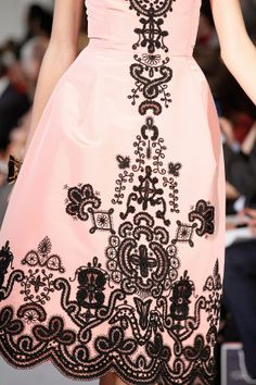 oscar de la renta / detail https://www.facebook.com/pages/Things-That-Make-Me-Go-OOOH/160135957330081