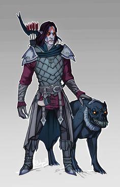 Skyrim: Vampire Lord by SineAlas on @DeviantArt