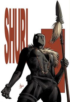 Black Panther Shuri Cover By: Mike Deodato Jr.