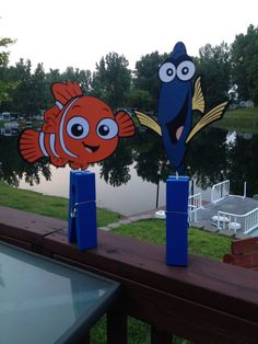 Finding Nemo Centerpieces by LoveEmilee on Etsy, $30.00