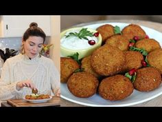 Falafel (Nohut Köftesi) Nasıl Yapılır? | Falafel Tarifi | Canan Kurban - YouTube Wie Macht Man, Homemade Desserts, Homemade Beauty Products, Food And Drink, Health Fitness, Healthy Eating, Cooking, Wordpress Theme, Ethnic Recipes