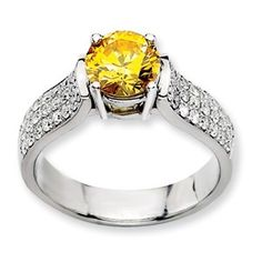 14kw Emma Grace Round Cultured Diamond Ring - SalmaJewelry.com  $9,994.14