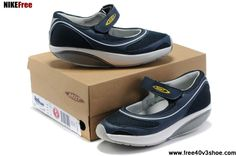 Fashion MBT Baridi Women Navy White Shoes Shoes Shop