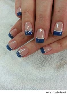 French nails design galerie